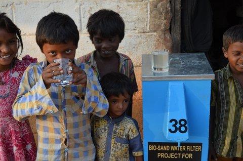 Bio-sand Water Filters, Pragathi