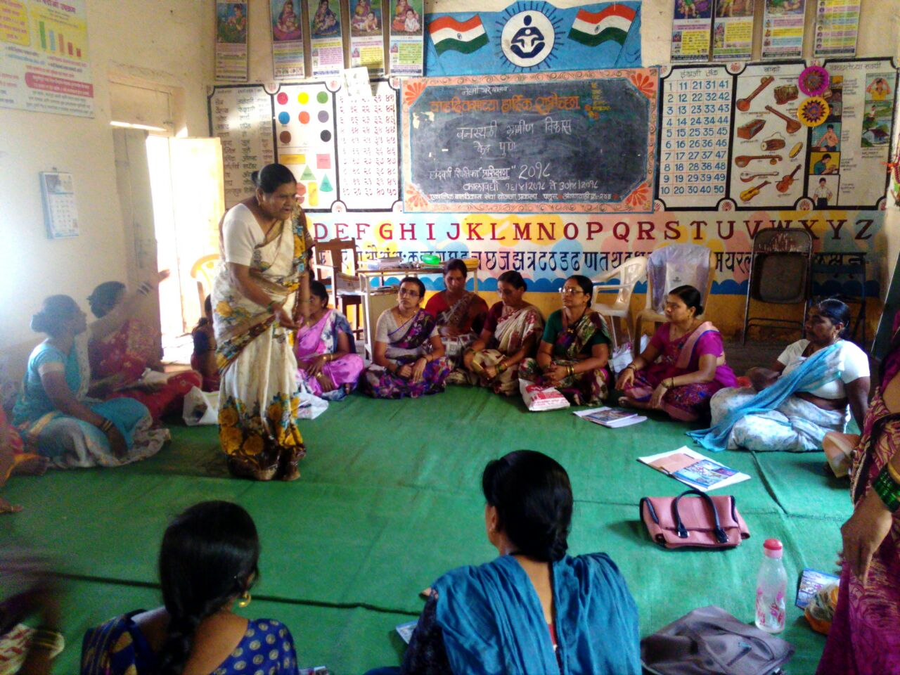 Training Women to Become Balwadi Teachers